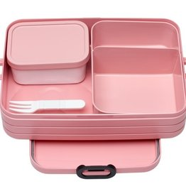 Mepal Bento lunchbox take a break large - nordic pink