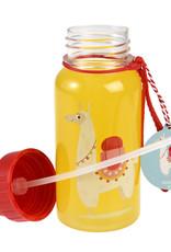 Rex London Drinkbus met rietje - Dolly llama 500 ml