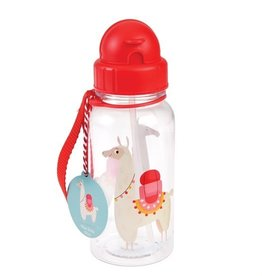 Rex London Drinkbus met rietje - Dolly llama 500 ml