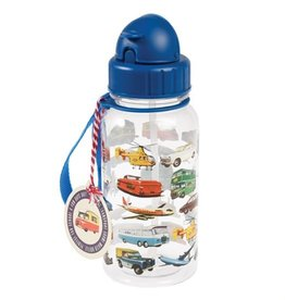 Rex London Drinkbus met rietje - Vintage transport 500 ml