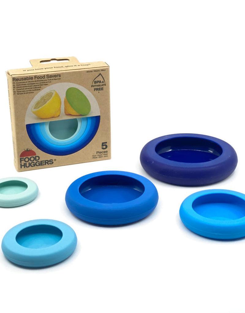 Food Huggers Food Huggers (set van 5) - Ice blue