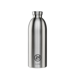24 bottles Clima bottle - Steel 850 ml