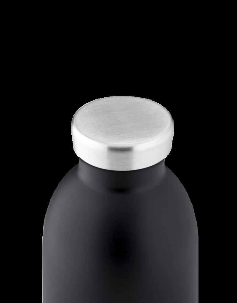 24 bottles Clima bottle - Tuxedo black 850 ml