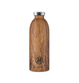 24 bottles Clima bottle - Sequoia wood 850 ml