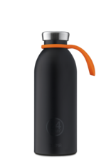 24 bottles Bottle tie - Orange