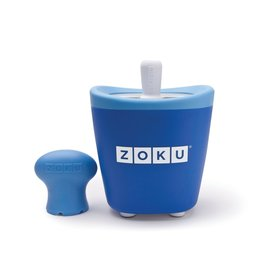 Zoku Quick pop maker - Single blauw