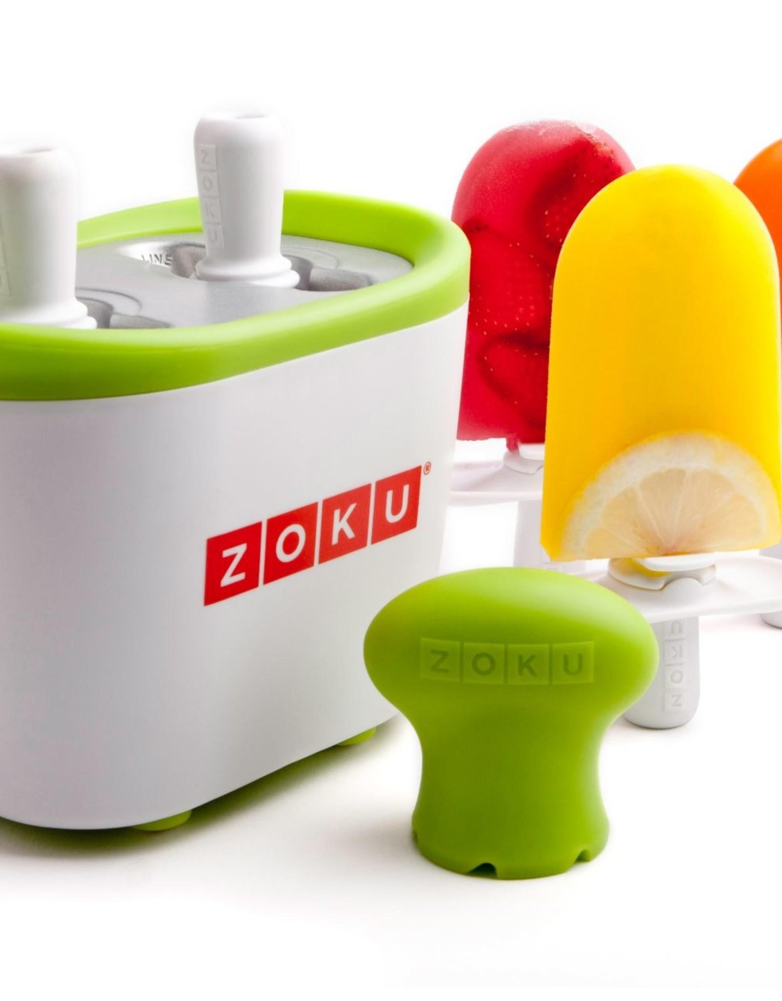 Zoku Quick pop maker - Single oranje