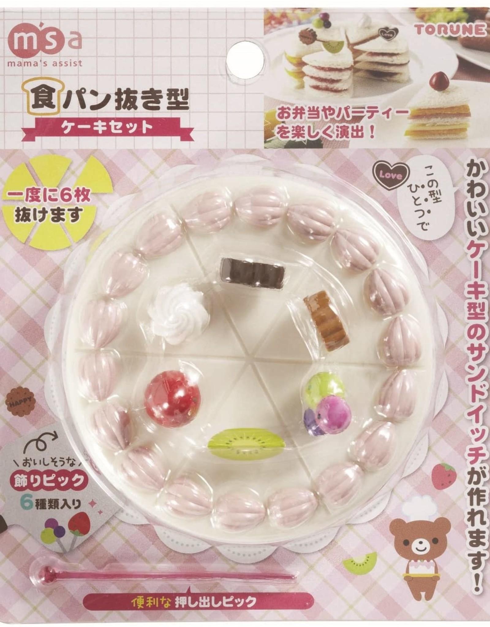 Torune Boterhamuitsteker - 'Cake set'