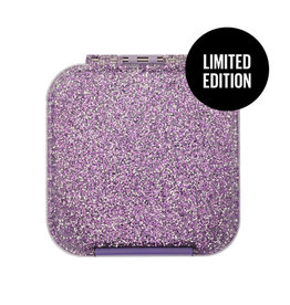 Little Lunch Box Co Bento two - Glitter Lila