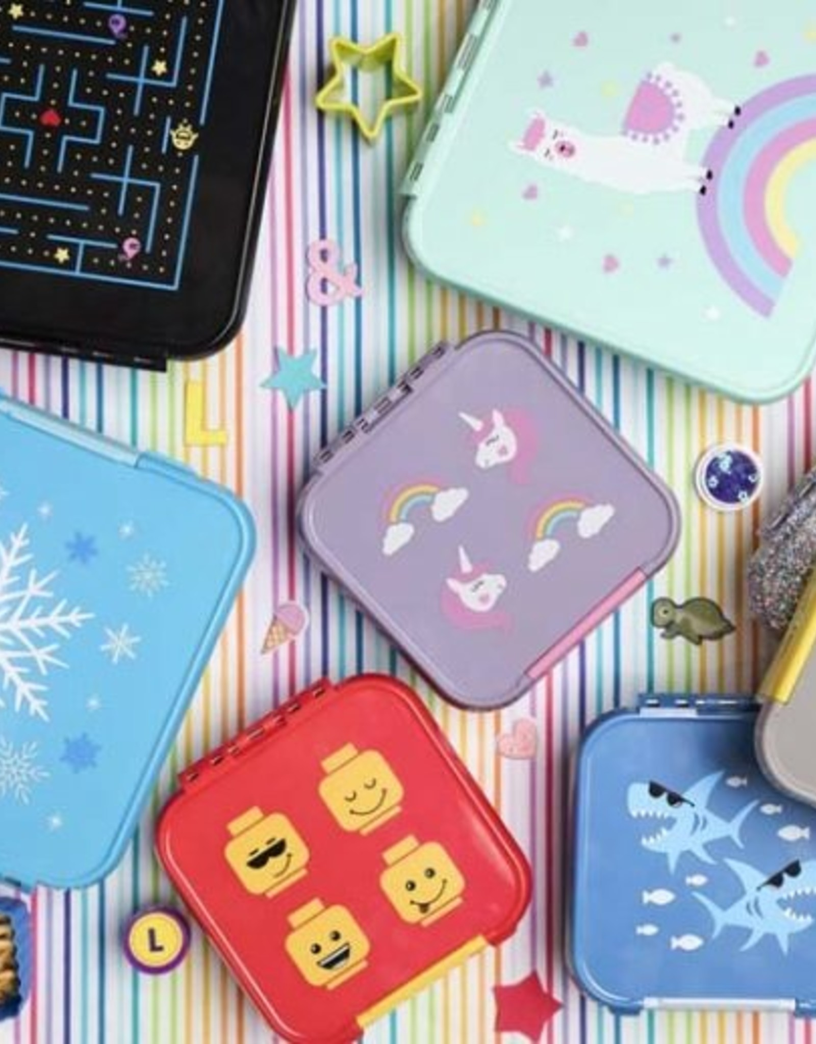 Little Lunch Box Co Bento three - Game on
