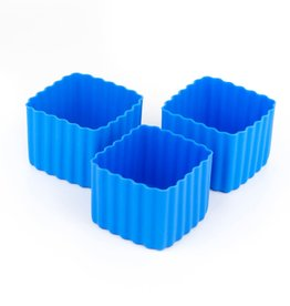 Little Lunch Box Co Bento cups vierkant - Blauw