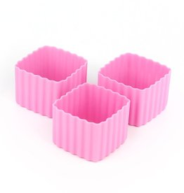 Little Lunch Box Co Bento cups vierkant - Roze