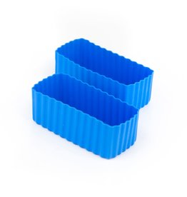 Little Lunch Box Co Bento cups rechthoek - Blauw