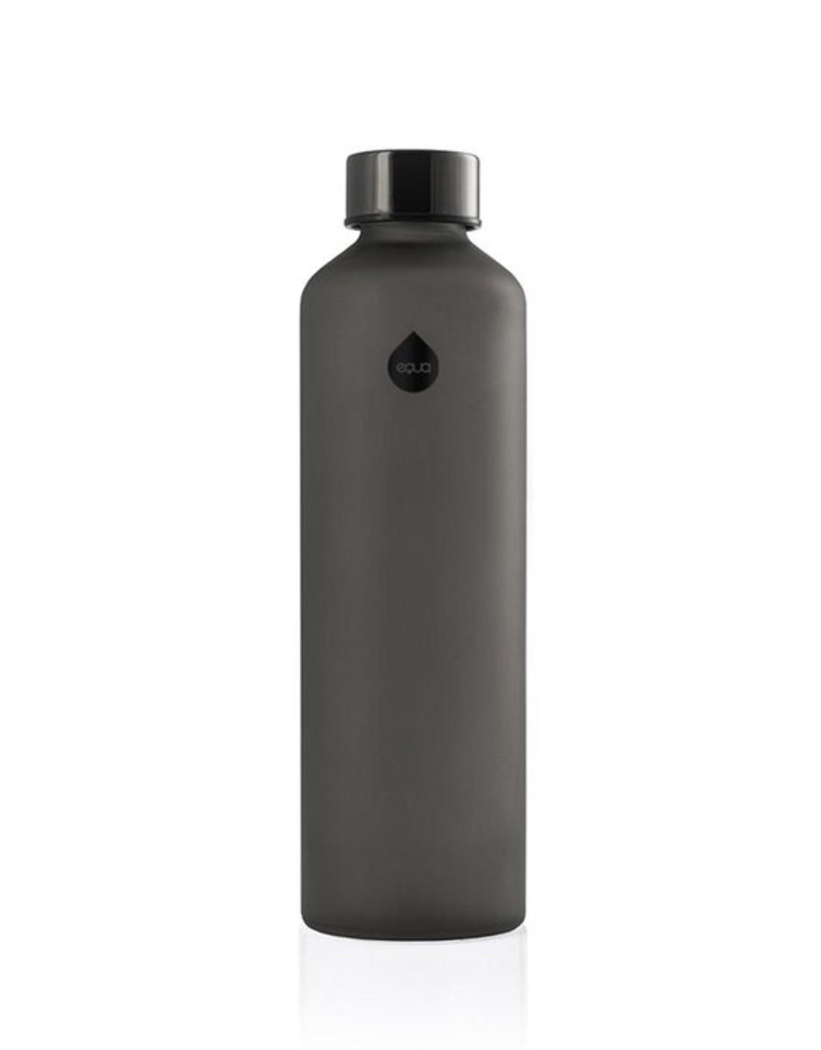 Equa Glazen drinkfles - Ash 750 ml