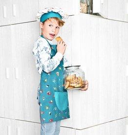 Lilliputiens Keukenschort en koksmuts - Onderweg