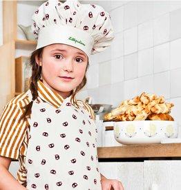 Lilliputiens Keukenschort en koksmuts - Emoti Georges