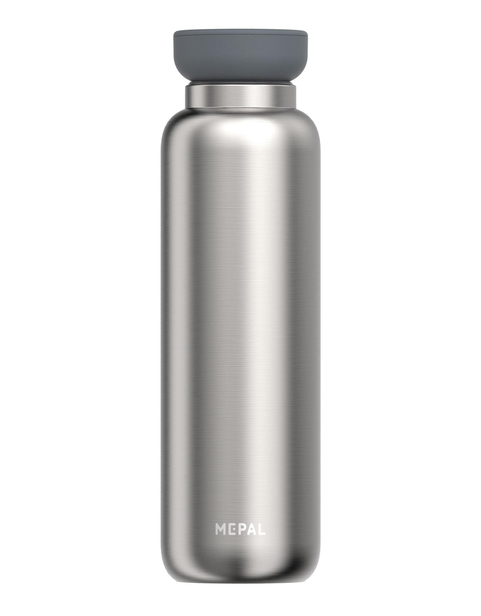 Mepal Isoleerfles ellipse 900 ml - Natural brushed