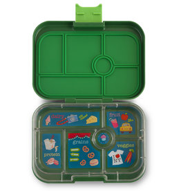 Yumbox Yumbox Original 6-vakken Brooklyn green