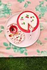 Rice Langwerpig melamine bord - Cherry print