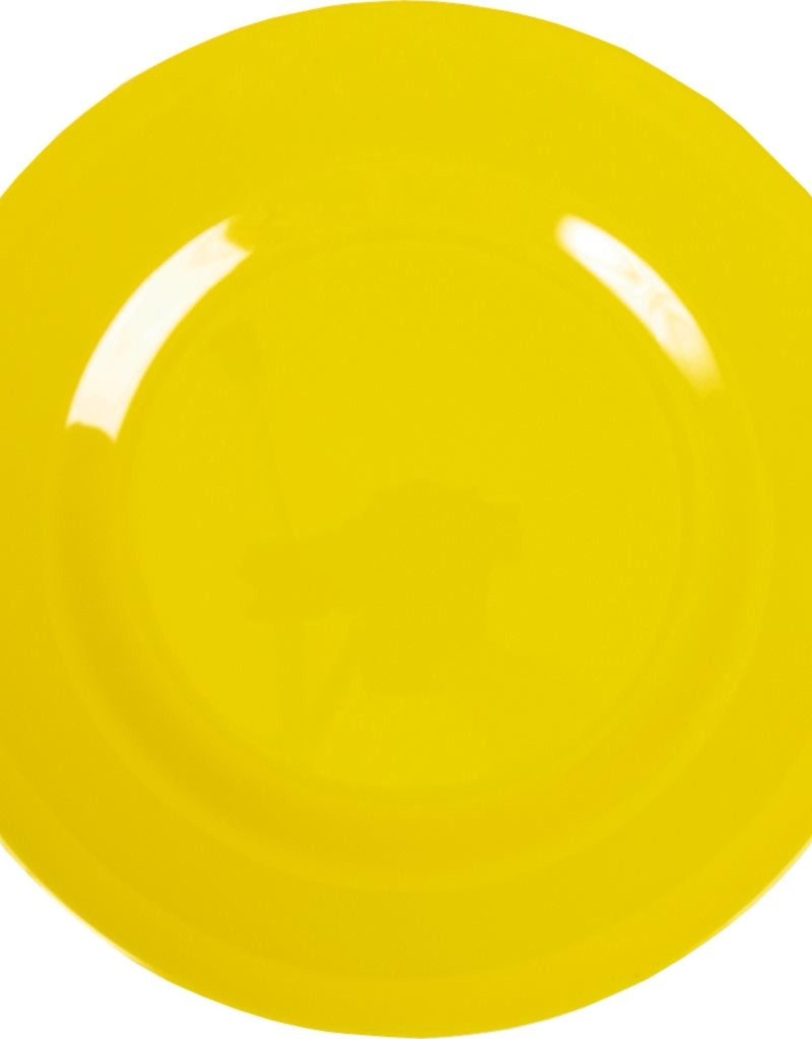 Rice Melamine dinerbord - Yellow