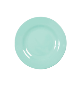 Rice Melamine lunchbord - Dark mint