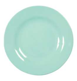 Rice Melamine dinerbord - Dark mint