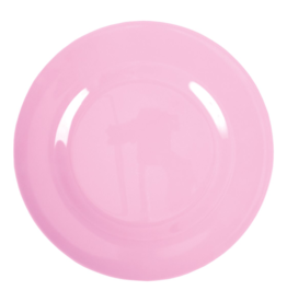 Rice Melamine dinerbord - Dark pink