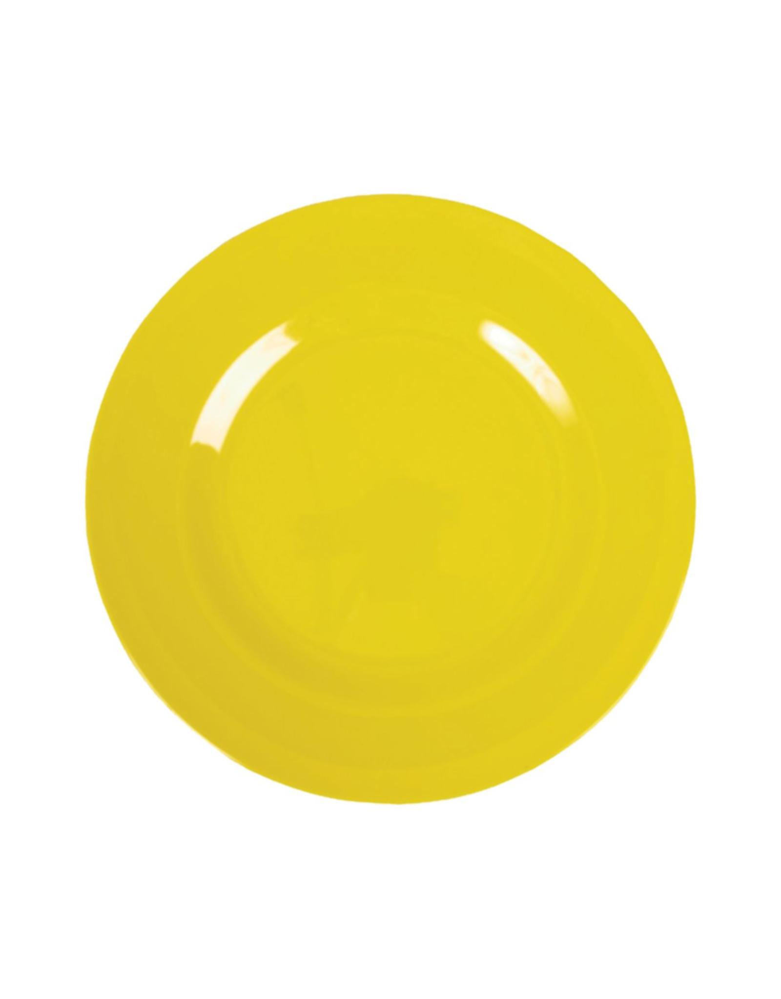 Rice Melamine lunchbord - Yellow