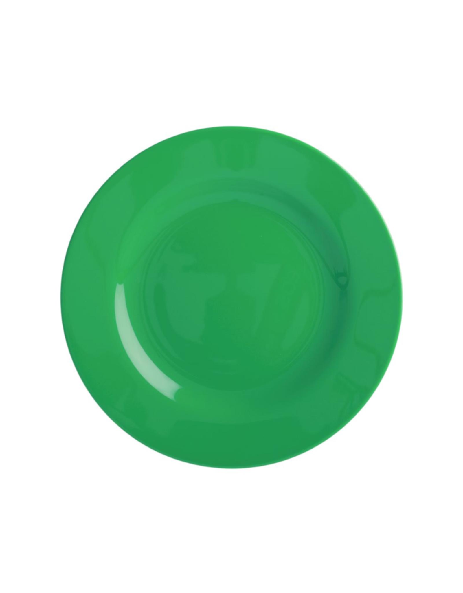 Rice Melamine lunchbord - Forest green