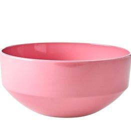 Rice X-large Melamine saladekom - Dark pink