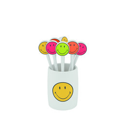 Zak! Designs Prikkers smiley - Set van 8