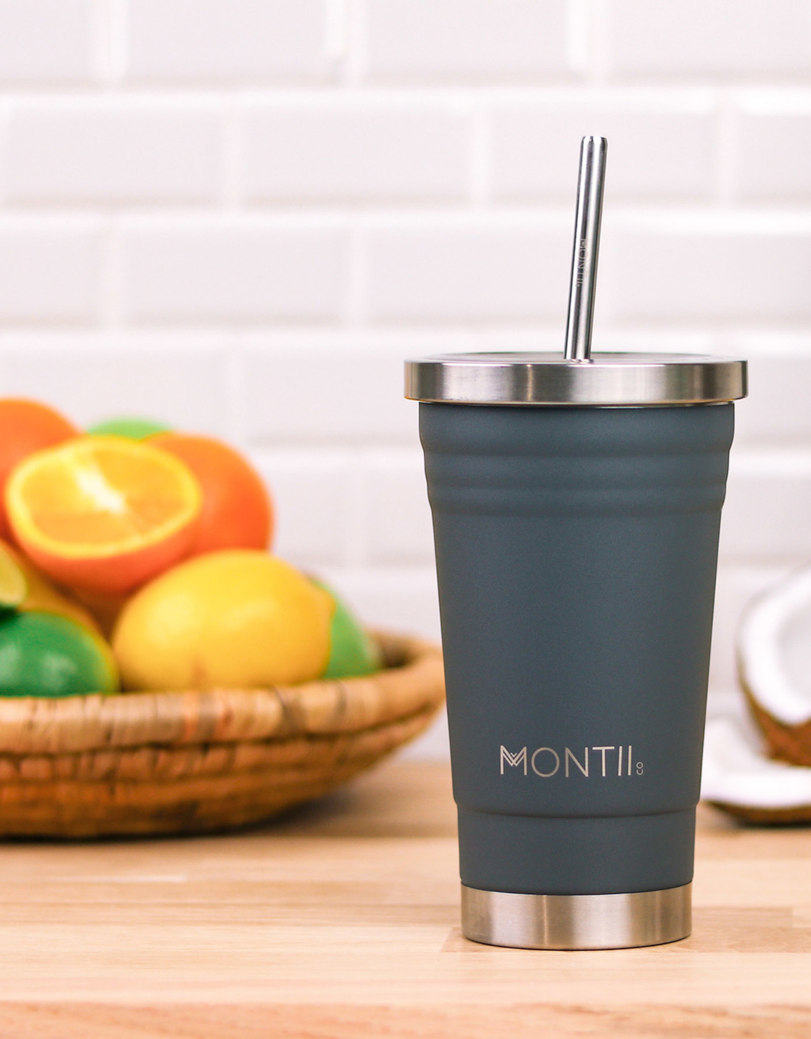 Montii Smoothie cup - Grey 450 ml