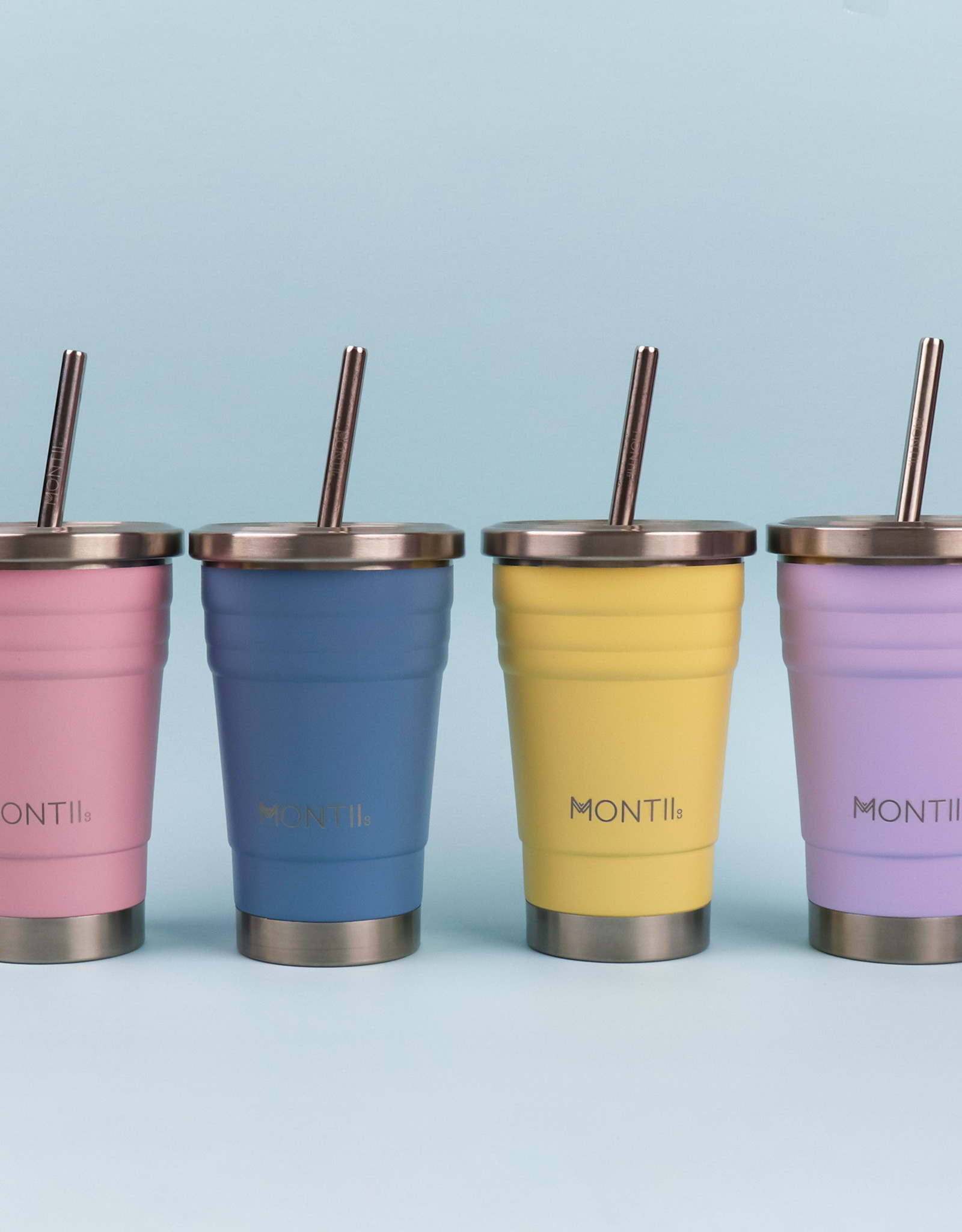 Montii  Mini smoothie cup - Dusty pink 275 ml
