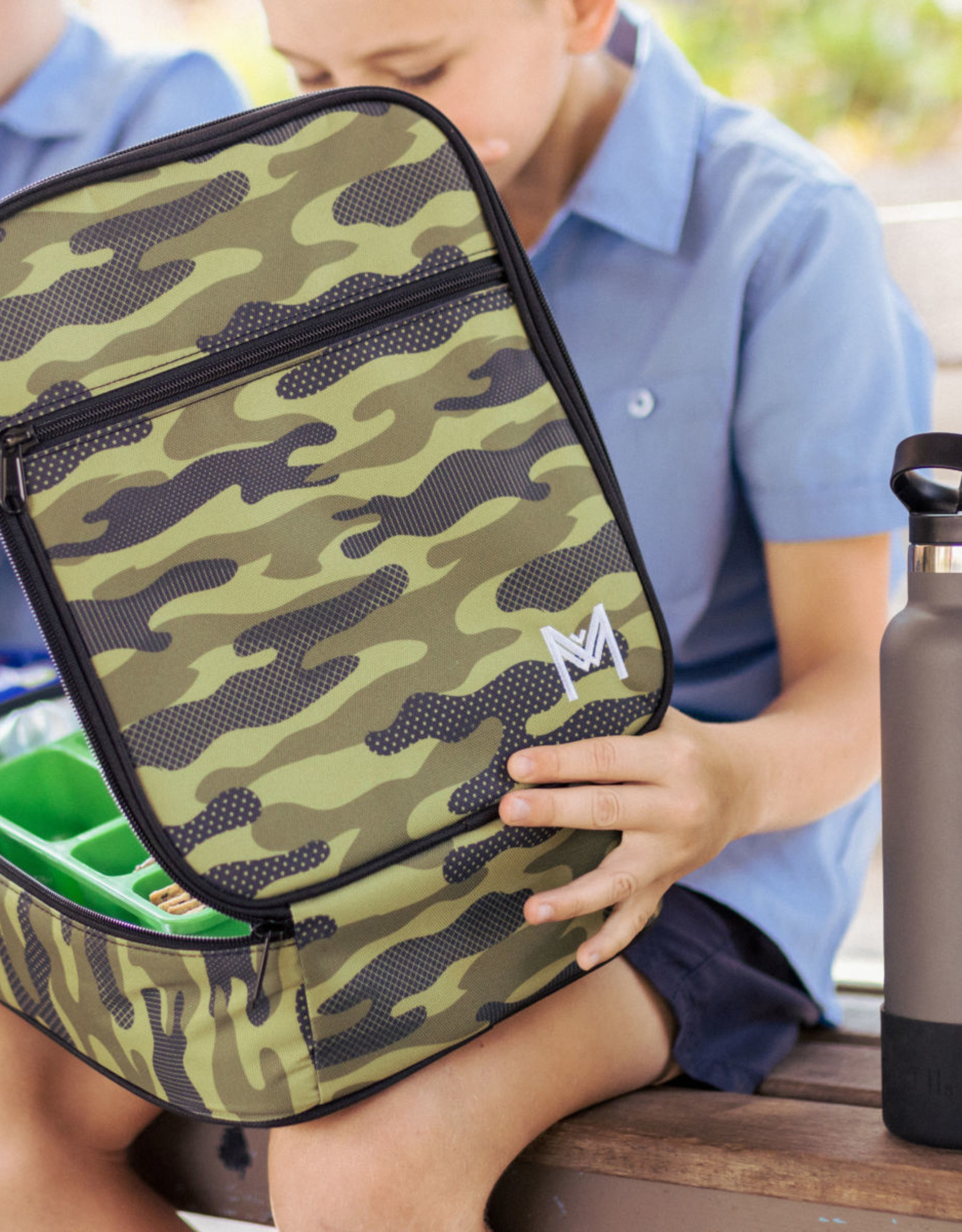 Montii Lunchtas camouflage (inclusief ice pack)