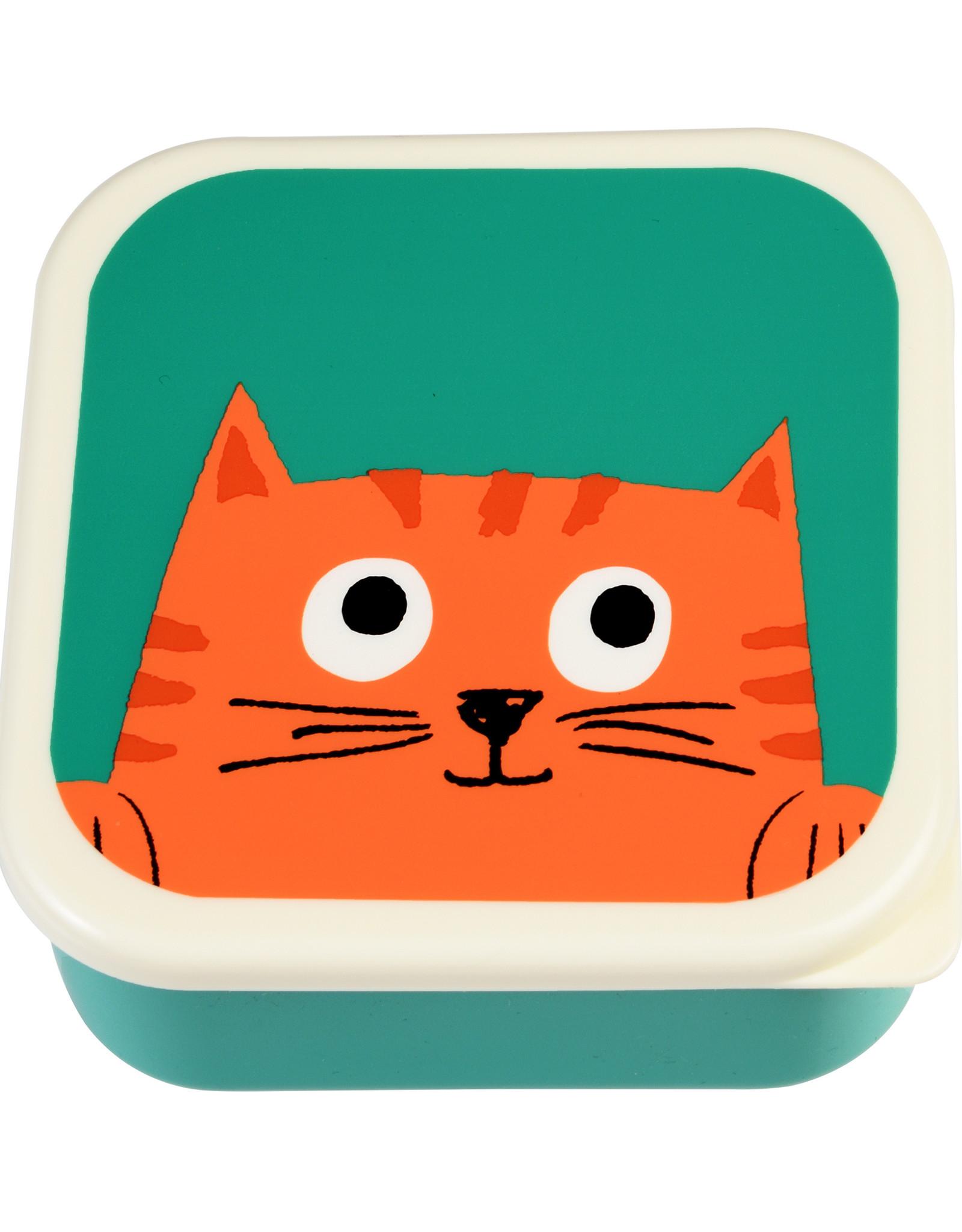 Rex London Snackdoosjes (set van 3) - Chester cat
