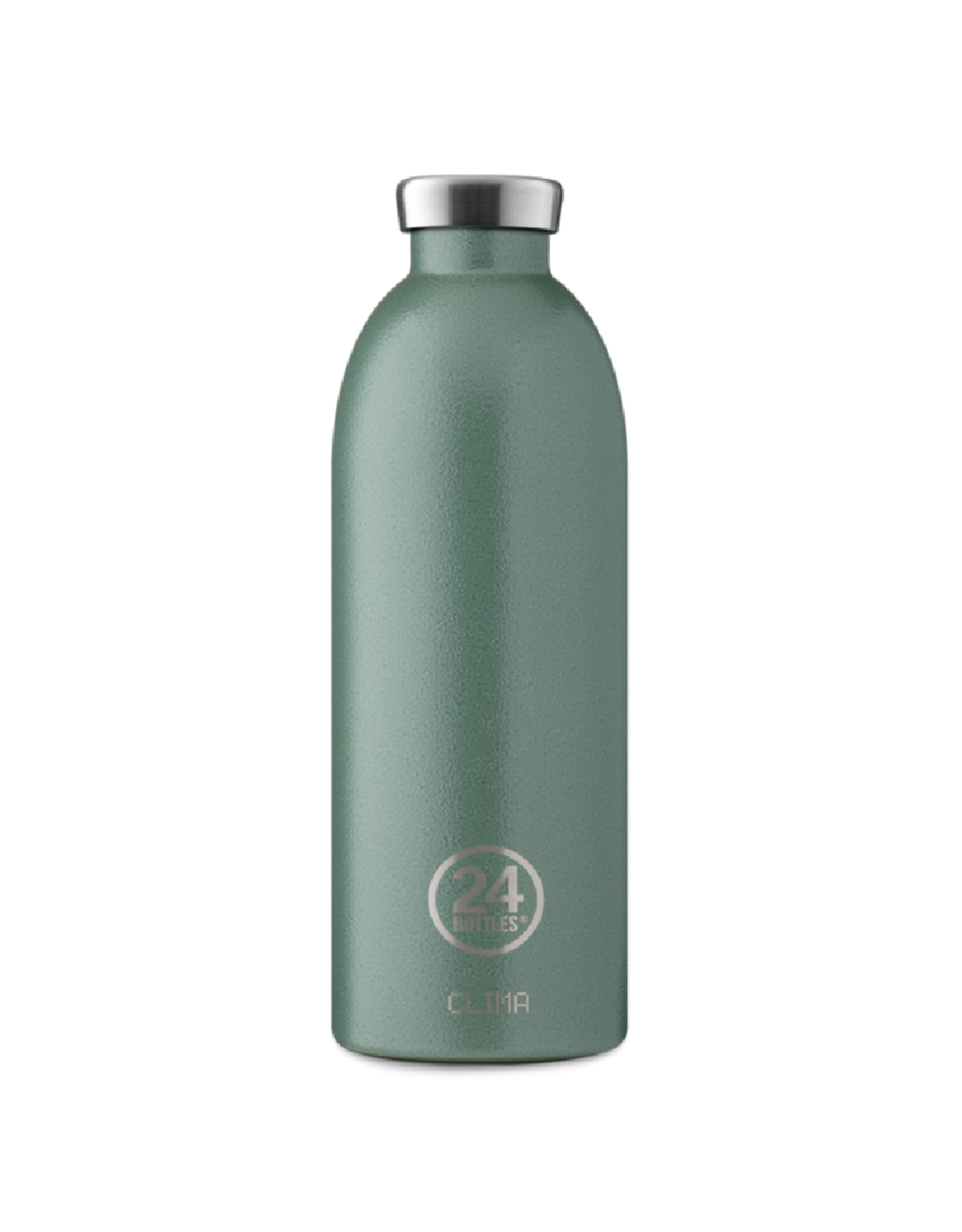24 bottles Clima bottle - Moss green 850 ml