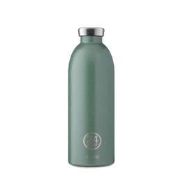 24 bottles Clima bottle - Moss green 850 ml