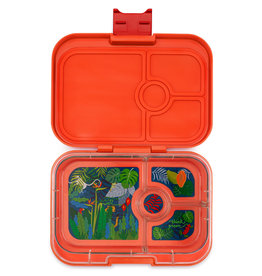 Yumbox Yumbox Panino 4-vakken Safari orange