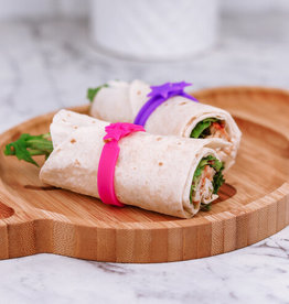Lunch Punch Wrap bandjes silicone - Pink