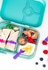 Lunch Punch Mini vork en lepel set - Blue