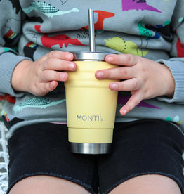 Montii Mini smoothie cup - Honeysuckle yellow 275 ml