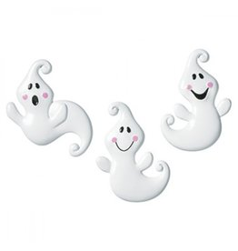 Friendly ghost ringen - 3 stuks
