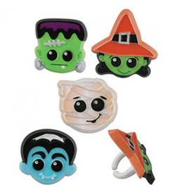 Trick or treat ringen - 4 stuks