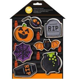 Wilton Uitstekers Halloween - Set van  7