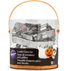 Wilton Uitstekers Halloween - Set van  18
