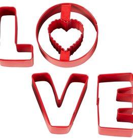 Wilton Uitstekerset LOVE