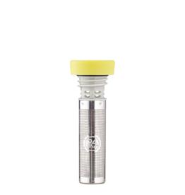 24 bottles Tea infuser lid - Lichtgeel