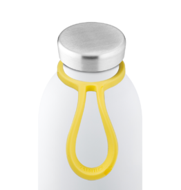 24 bottles Bottle tie - Lichtgeel