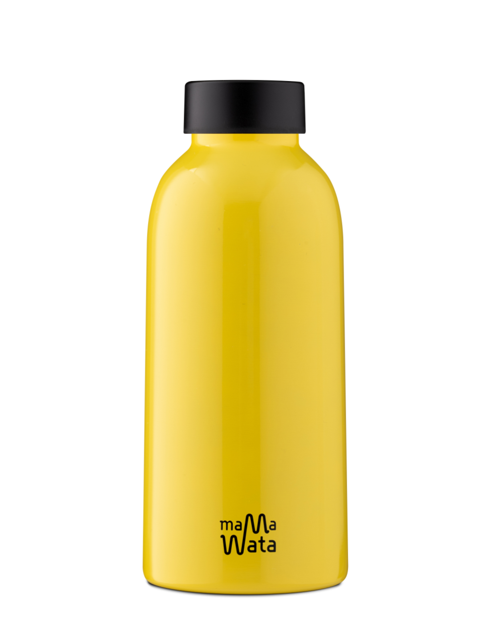 Mama Wata Mama Wata thermische drinkfles 470 ml - Yellow
