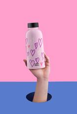 Mama Wata Mama Wata thermische drinkfles 470 ml - Hearts